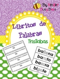Three Syllable Word Books! Spanish