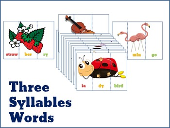 Three Syllables Words