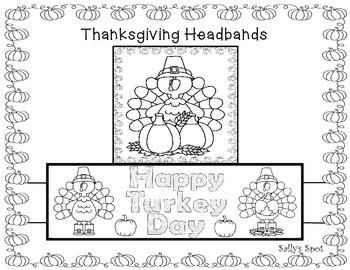 Three Thanksgiving Headbands