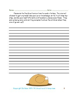 Three Thanksgiving Story Starters and Bonus Activities to Help Kids to Write!