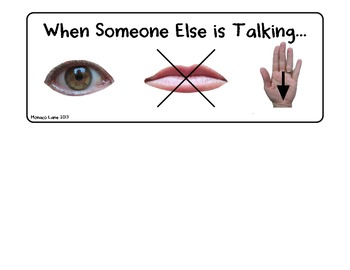 Three Things (What to do When Someone Else is Talking)