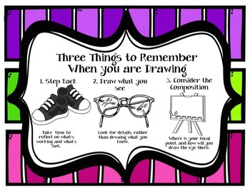 Three Things to Remember When Drawing Poster