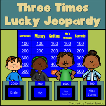 Three Times Lucky Jeopardy by Sheila Turnage