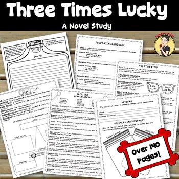 Three Times Lucky Novel Study