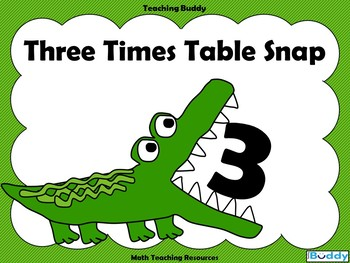 Three Times Table Snap