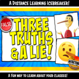 Three Truths and a Lie Icebreaker Activity for Distance Le