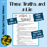 Three Truths and a Lie (Vocabulary) NGSS MS-ESS1-2