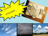 Three Types of Clouds Foldable (Interactive Notebook)