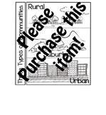 Three Types of Communities :Pearson My World Texas Social Studies Gr. 3 Ch 1:L.3
