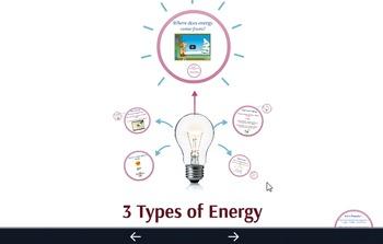 Three Types of Energy Prezi