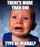 Three Types of Verbals?