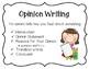 Three Types of Writing Anchor Charts Process Charts