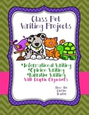 Three Types of Writing Pieces in One!  Class Pet Writing Project