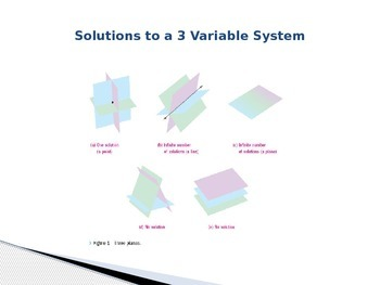 Three Variable Systems
