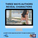Three Ways Authors Reveal Characters | Distance Learning