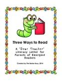Three Ways to Read