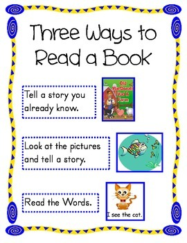 Three Ways to Read a Book