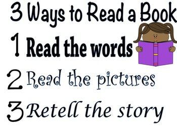 Three Ways to Read a Book Poster