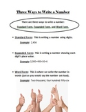 Three Ways to Write a Number