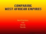 Three West African Empires Graphic Organizer PowerPoint