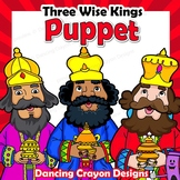 Three Wise Men Puppets | Printable Paper Bag Puppet Wise Kings