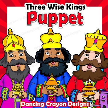photo about Bible Character Puppets Printable titled A few Smart Adult males Puppets Printable Paper Bag Puppet Good Kings