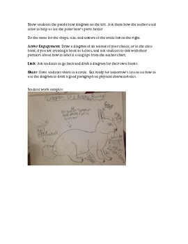 Three Writer's Workshop Mini Lessons for Informational Writing/Animal Books