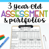 3 Year Old Assessment and Portfolio