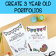 Three Year Old Assessment and Portfolio