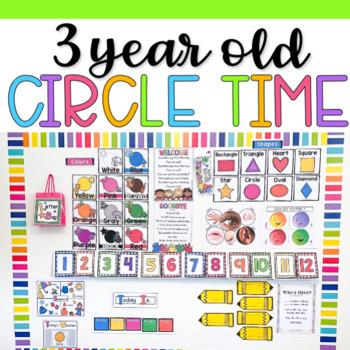 Three Year Old Circle Time