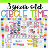 3 Year Old Circle Time Board and Songs