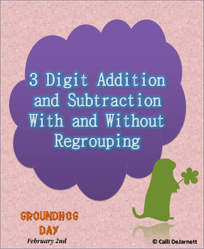 Three digit Subtraction/Addition With and Without Regrouping up to 999