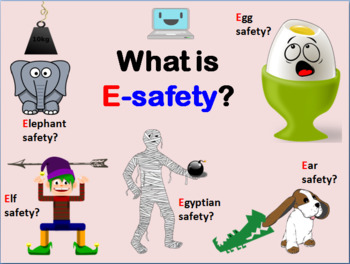 Three e-safety lessons (Grades 1-5 Internet Safety)