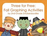 Three for Free: Fall Graphing Activities