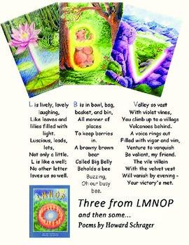 Three from LMNOP: Alphabet Poetry