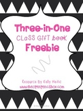Three in One Class Gift Book Bundle Freebie