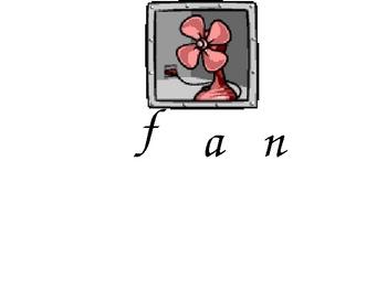 Three letter words slide show for beginning readers