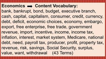 Three levels of Government and Economics ~ Grades 3 - 5