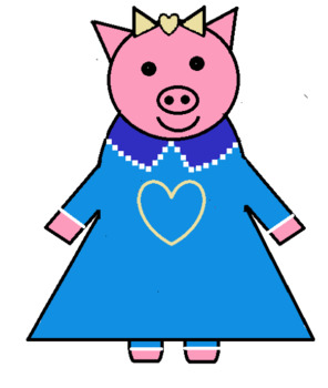 Three little pigs clip art