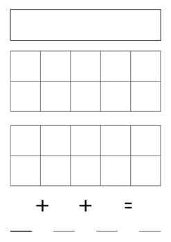 Three number addition activity