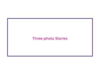 Three-picture stories