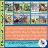 ThreeSchool Home Preschool Curriculum FEBRUARY