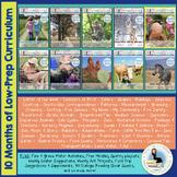 ThreeSchool Home Preschool Curriculum JANUARY
