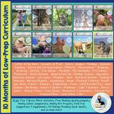 ThreeSchool Home Preschool Curriculum JUNE