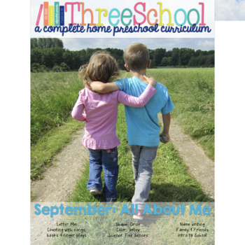 ThreeSchool Home Preschool Curriculum SEPTEMBER