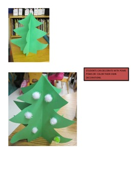 Threee Dimensional Christmas Tree