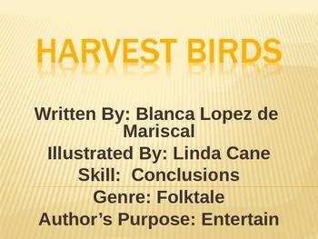 3rd Grade Lesson 8 The Harvest Birds Voc./Spelling/Comp. Skills Power Point