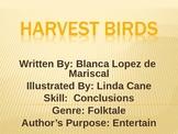 3rd Grade Lesson 8 The Harvest Birds Voc./Spelling/Comp. S