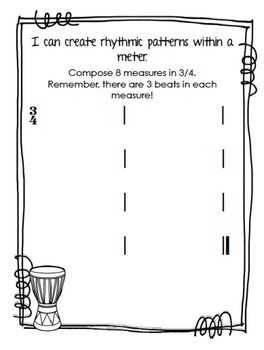 Music Interactive Notebook {Fourth Grade}