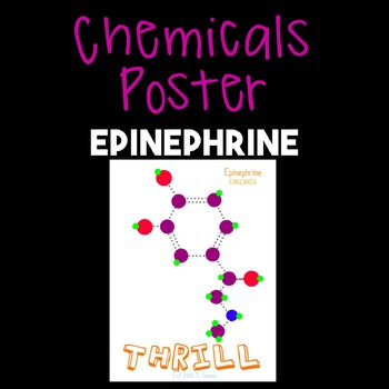 Chemicals Poster--Epinephrine